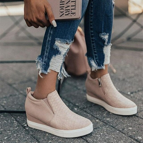 Women Sneakers Femme Vulcanized Shoes Ladies' freeshipping - PuaGme