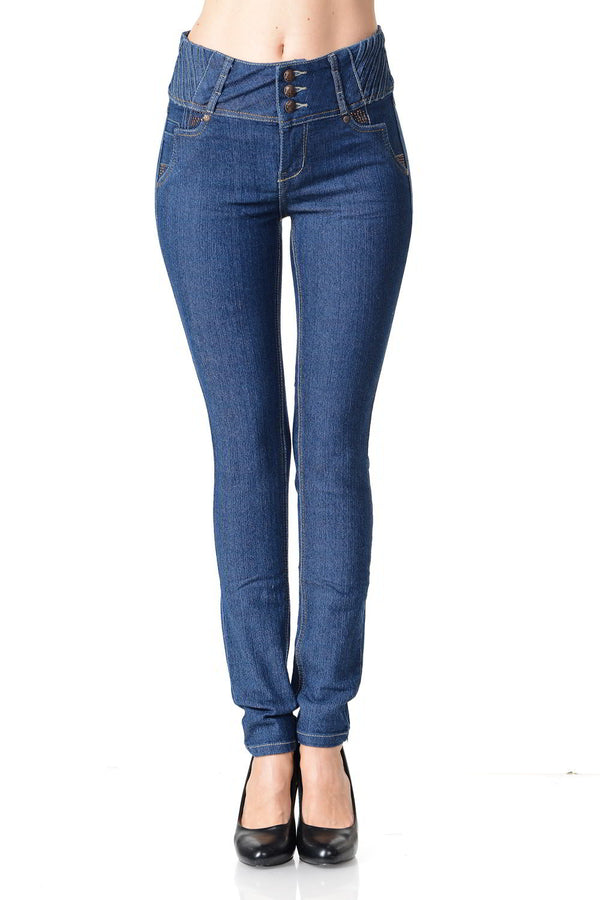 Pasion Women's Jeans - Push Up -  Style G518 freeshipping - PuaGme