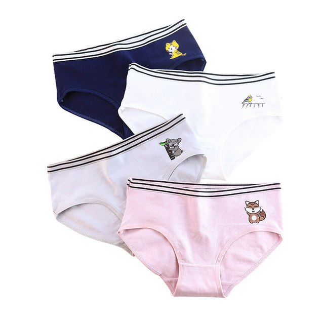 Panties for women  fashion cotton gril briefs