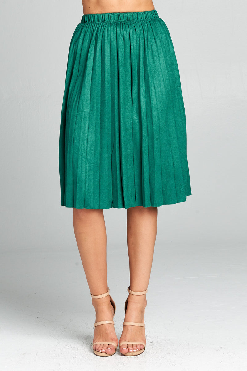 CINCHED MID LENGTH SKIRT