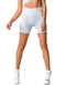 SHORTS 112 SEAMLESS WHITE