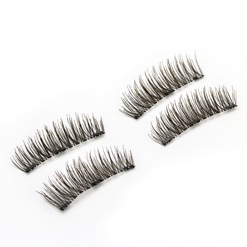Shozy Magnetic eyelashes with 3 magnets handmade freeshipping - PuaGme