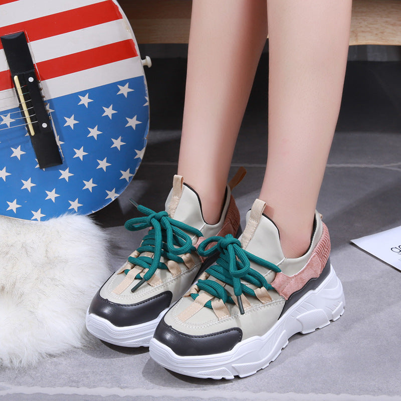 Spring Platform Shoes Woman Sneakers Chaussure