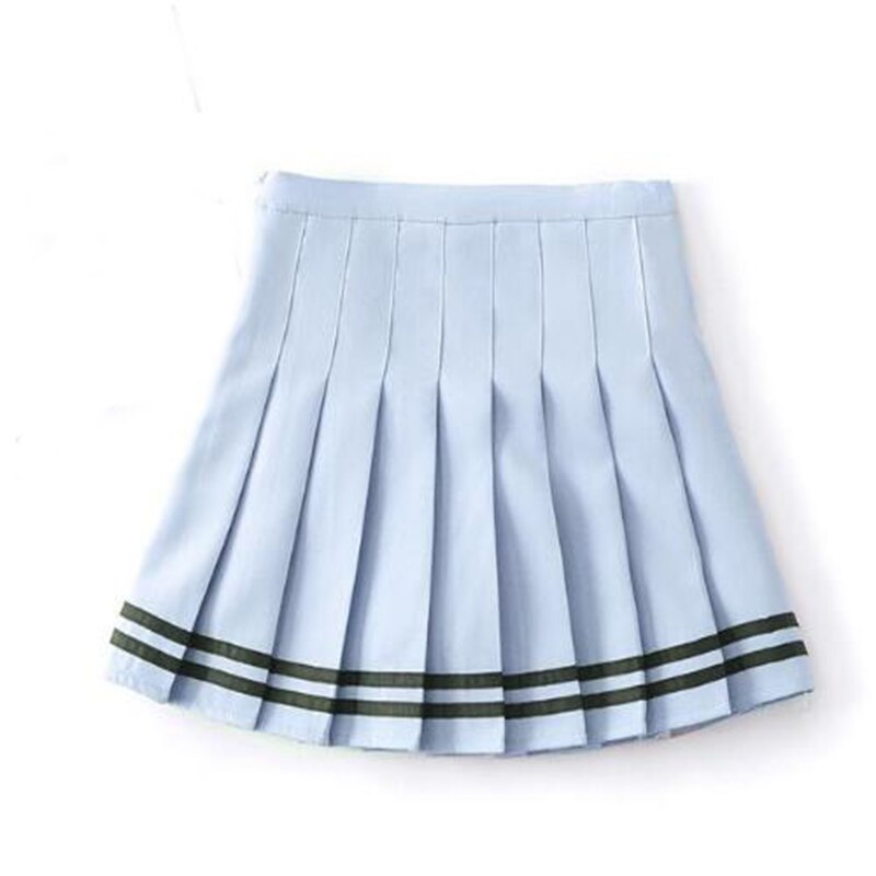 Striped Mini Skirt Harajuku Preppy Kawaii