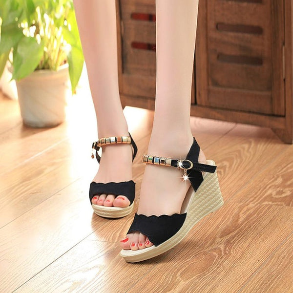 Summer Fashion High Heels Sandals  Women Fish freeshipping - PuaGme