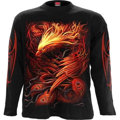 PHOENIX ARISEN - Longsleeve T-Shirt Black freeshipping - PuaGme