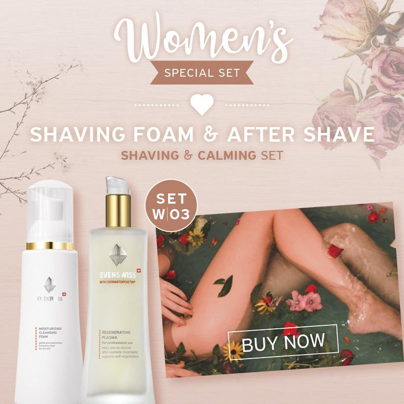 SET W03 - Shaving FOAM & AFTER SHAVE