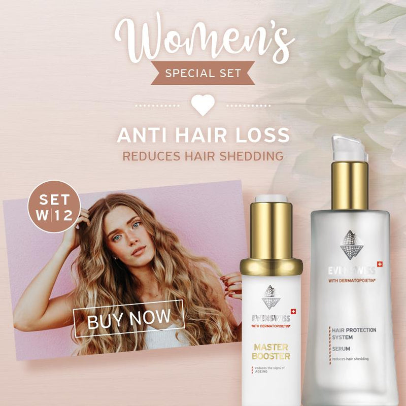 Set W12 - ANTI HAIR LOSS - Reduces hair shedding