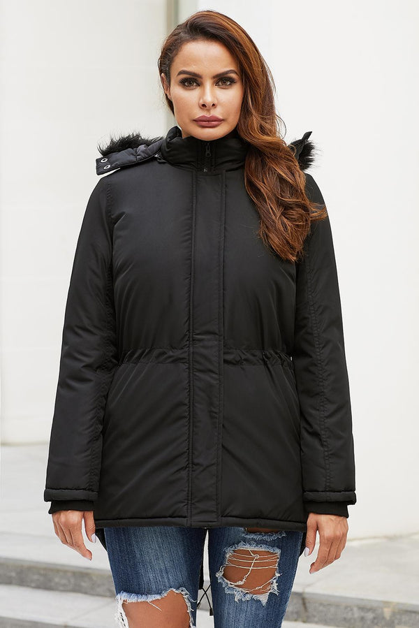 Winter Black Breitenbush Hooded Parka