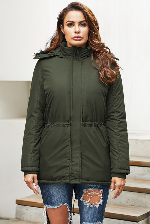 Winter Green Breitenbush Hooded Parka
