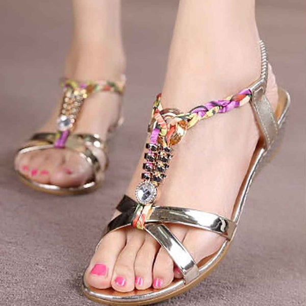 Women Flat Sandals for Female Size 36-40