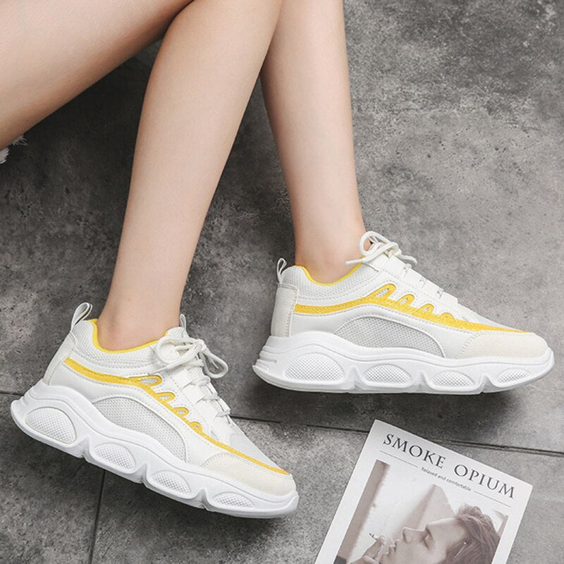 Women Sneakers Women Shoes Korean Wild Thick