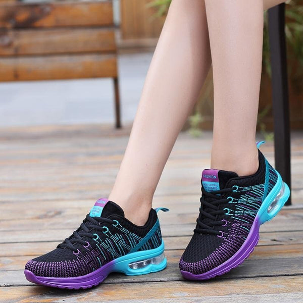Women's Sneakers Breathable Cushioning Shoes Woman