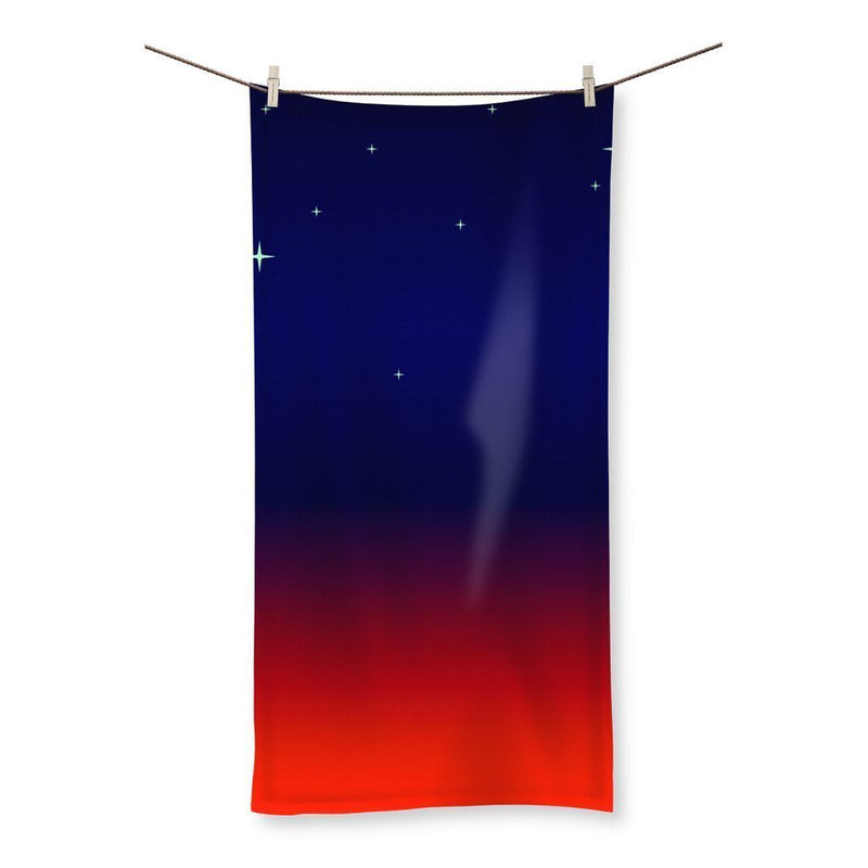 Abstract Gradient 9 Beach Towel