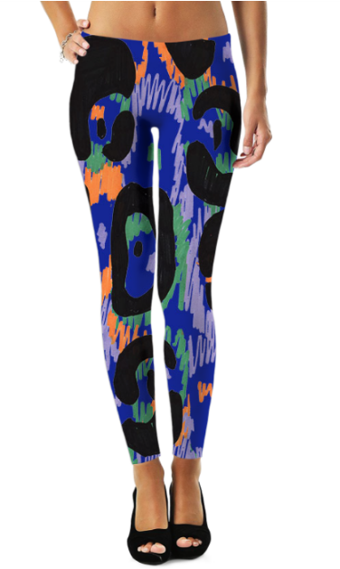 Abstract Pattren (42) Legging