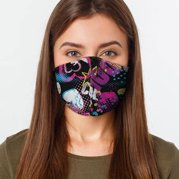 Cool Grunge Face Cover freeshipping - PuaGme