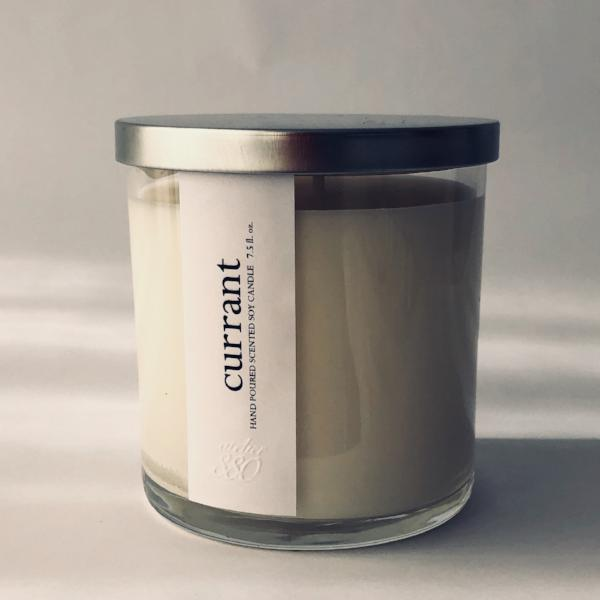 currant scented luxury soy candle freeshipping - PuaGme
