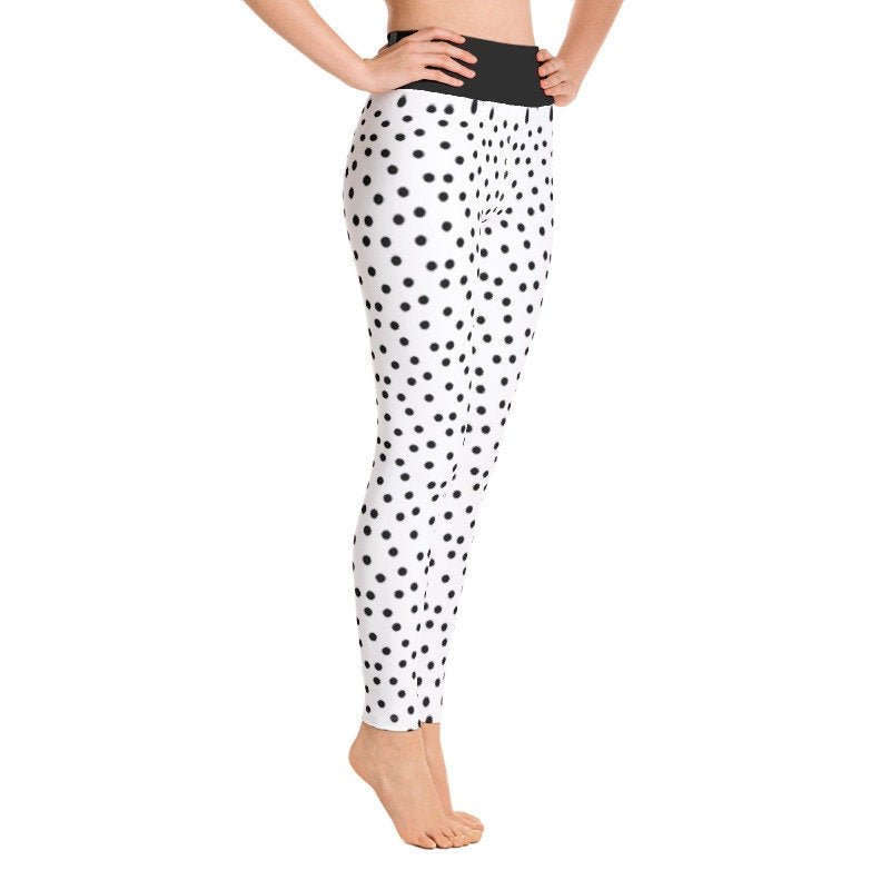 Polka Dot Leggings, Capris and Shorts