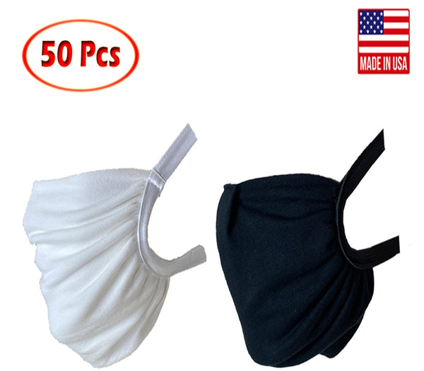 Washable reusable fabric mask Pack of 50 face mask freeshipping - PuaGme