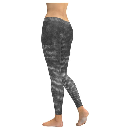 Black Disco Leggings, Capris, Shorts freeshipping - PuaGme