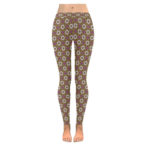 Floral Abstract leggings, Capris and Shorts freeshipping - PuaGme