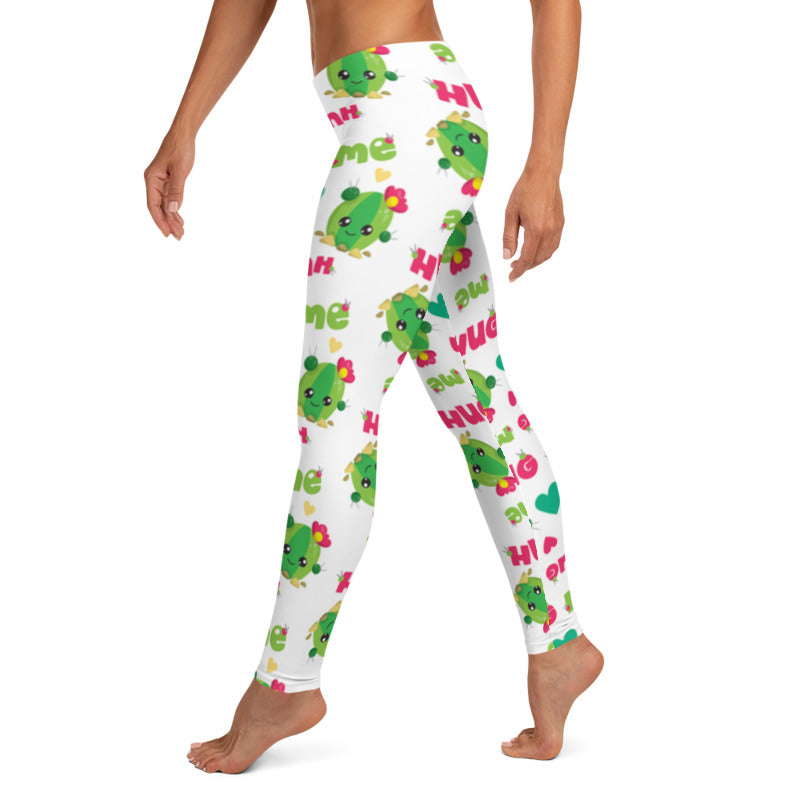 Hug Me Cactus leggings, Capris and Shorts freeshipping - PuaGme
