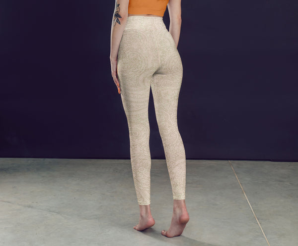 Cream Leggings, Capris and Shorts freeshipping - PuaGme