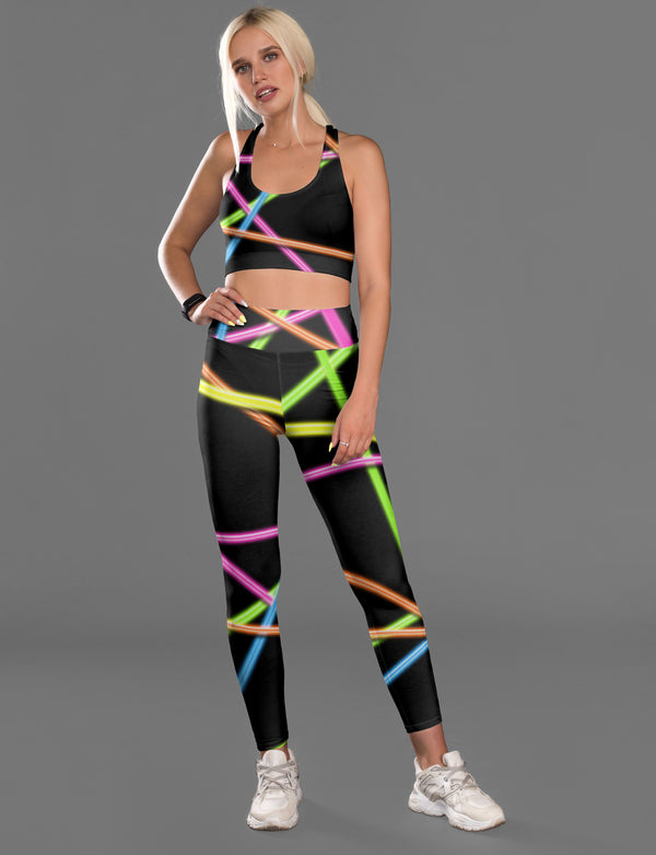 Neon Fitness Set freeshipping - PuaGme