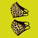 Washable reusable face protection animal print face mask freeshipping - PuaGme