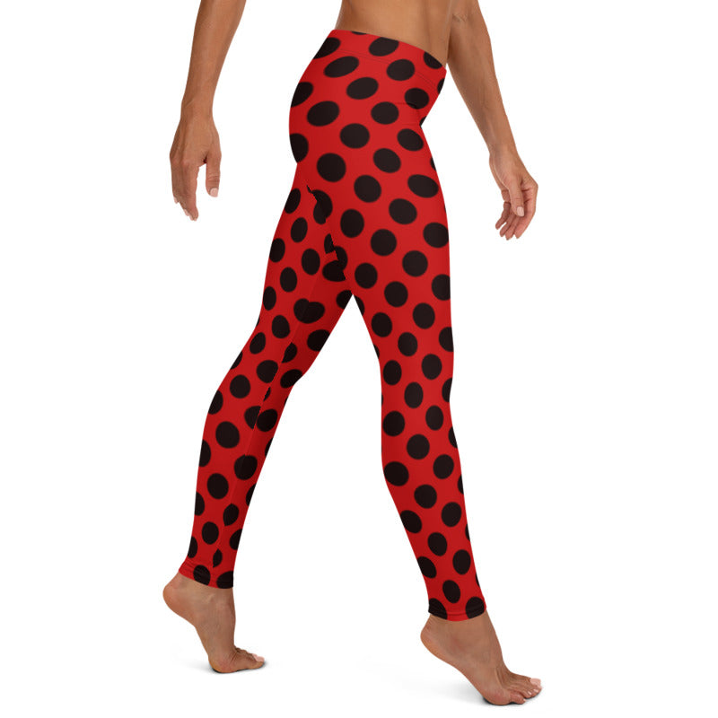 Ladybug leggings, Capris and Shorts freeshipping - PuaGme