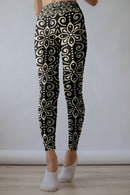 Mandala leggings, Capris and Shorts freeshipping - PuaGme