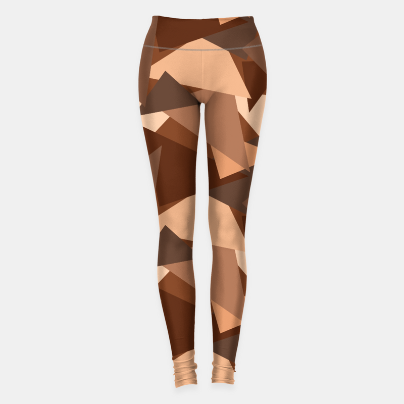 Chocolate Pattern Leggings freeshipping - PuaGme