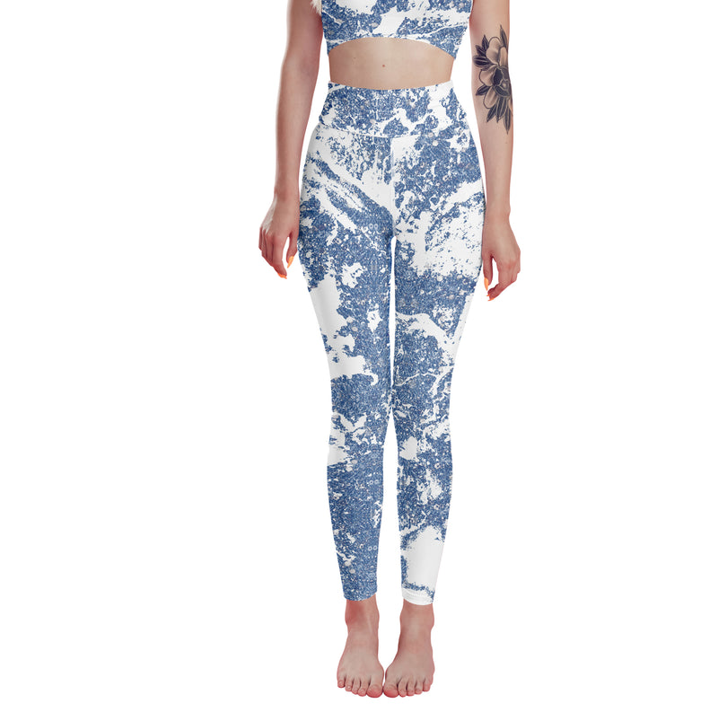 Blue Marble leggings, Capris and Shorts freeshipping - PuaGme