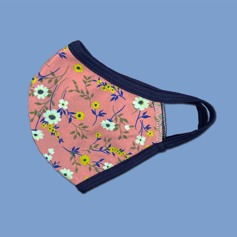 Pack of 25 fashion Floral flower washable reusable fabric face mask
