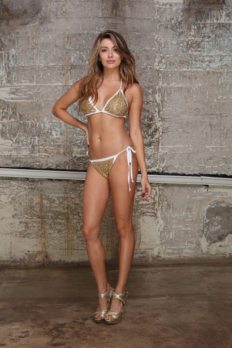 Cleopatra Swim Set White freeshipping - PuaGme