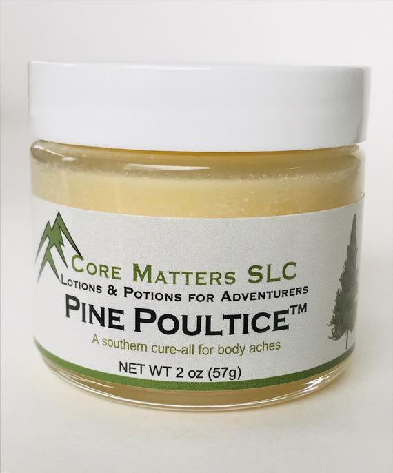 Pine Poultice - This is a little southern comfort