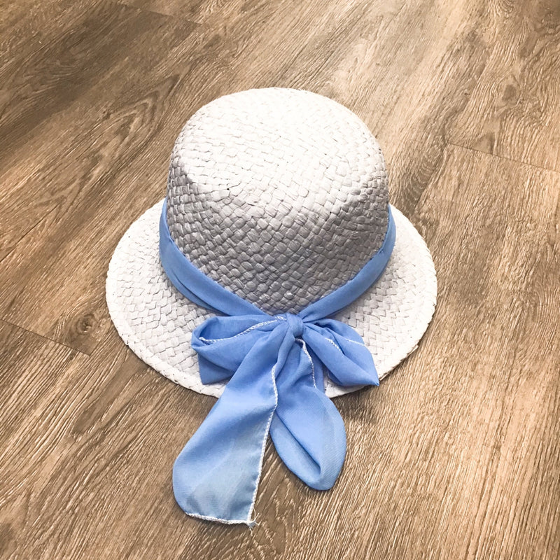 Baby Blue Bow Bucket Hat freeshipping - PuaGme