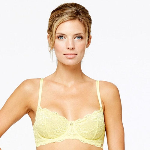 Demi Lace Cup Bra Montelle Flirt Fresh Pear freeshipping - PuaGme