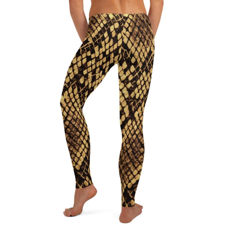 Snake Print Leggings, Capris and Shorts freeshipping - PuaGme