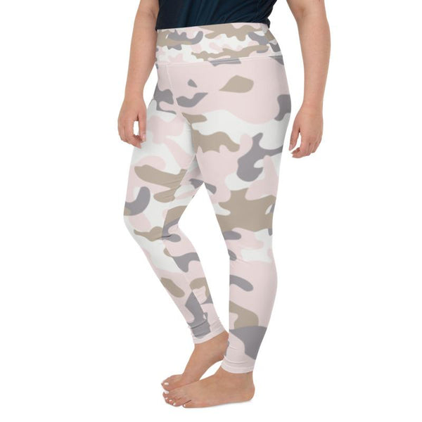 Plus Size Camo Leggings freeshipping - PuaGme