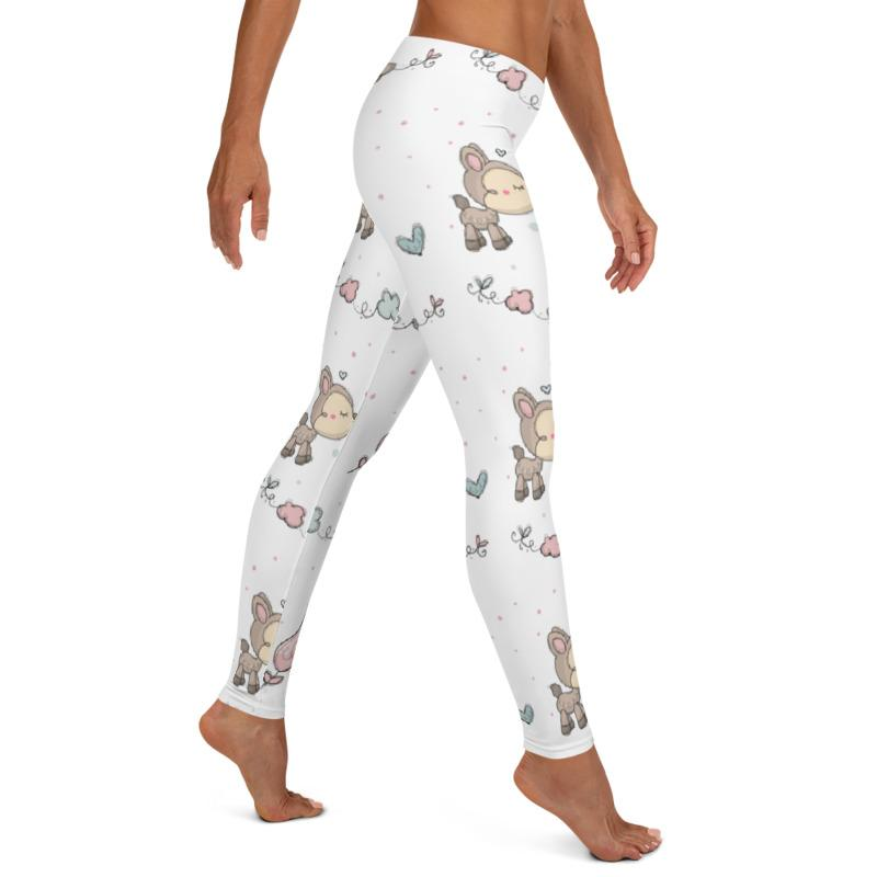 Woodland Creatures Leggings, Capris and Shorts freeshipping - PuaGme