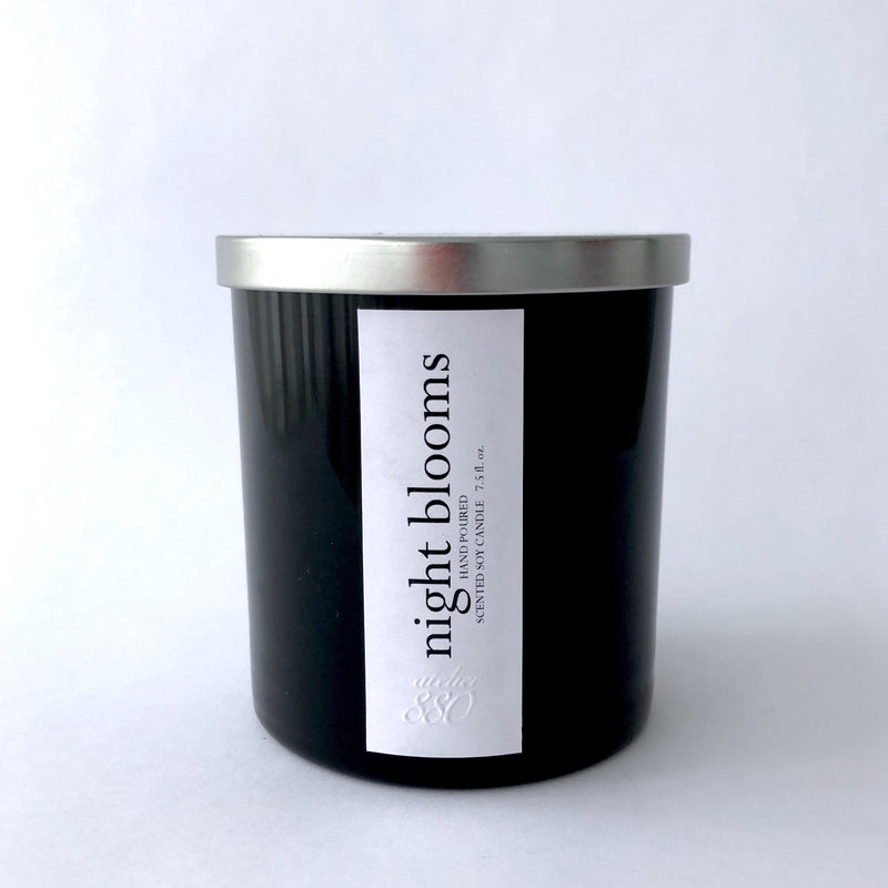 night blooms scented luxury soy candle freeshipping - PuaGme