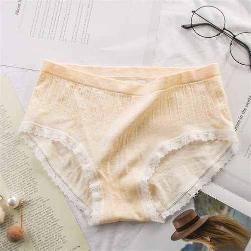 panties for women cotton low rise briefs ladies freeshipping - PuaGme