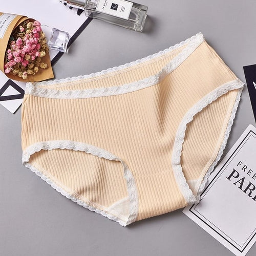 panties for women cotton mid-rise briefs seamless freeshipping - PuaGme