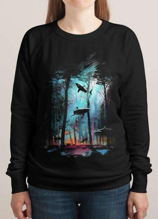 SHARK FOREST WOMEN Printed SWEAT SHIRT