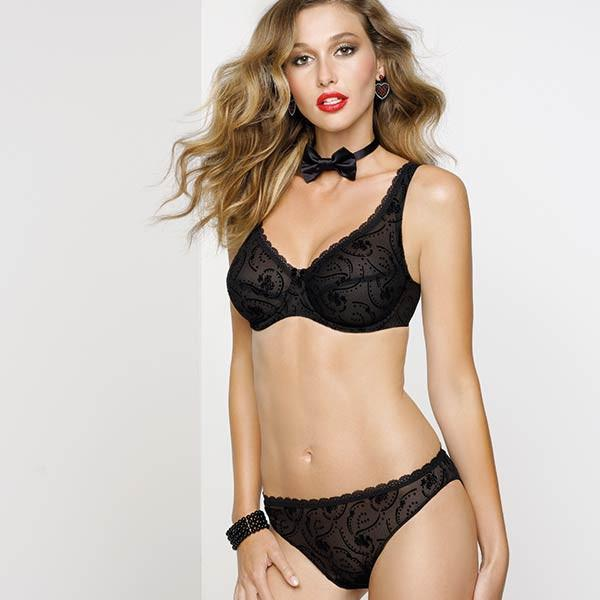 LISE CHARMEL ANTIGEL SHEER LACE BIKINI PANTY freeshipping - PuaGme