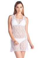 Women's Spider Tank Swimwear Cover-up Beach Dress