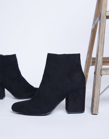 All Year Round Ankle Booties