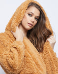 Goldilocks Hooded Teddy Jacket