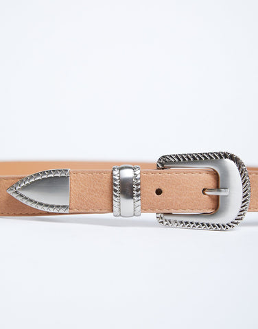 In The Details Buckle Belt